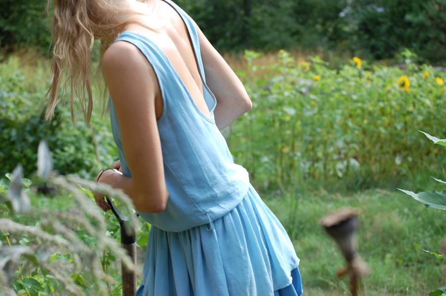 Den här bilden gör klänningen rätta, så den har egentligen ingenting med potatis att göra...