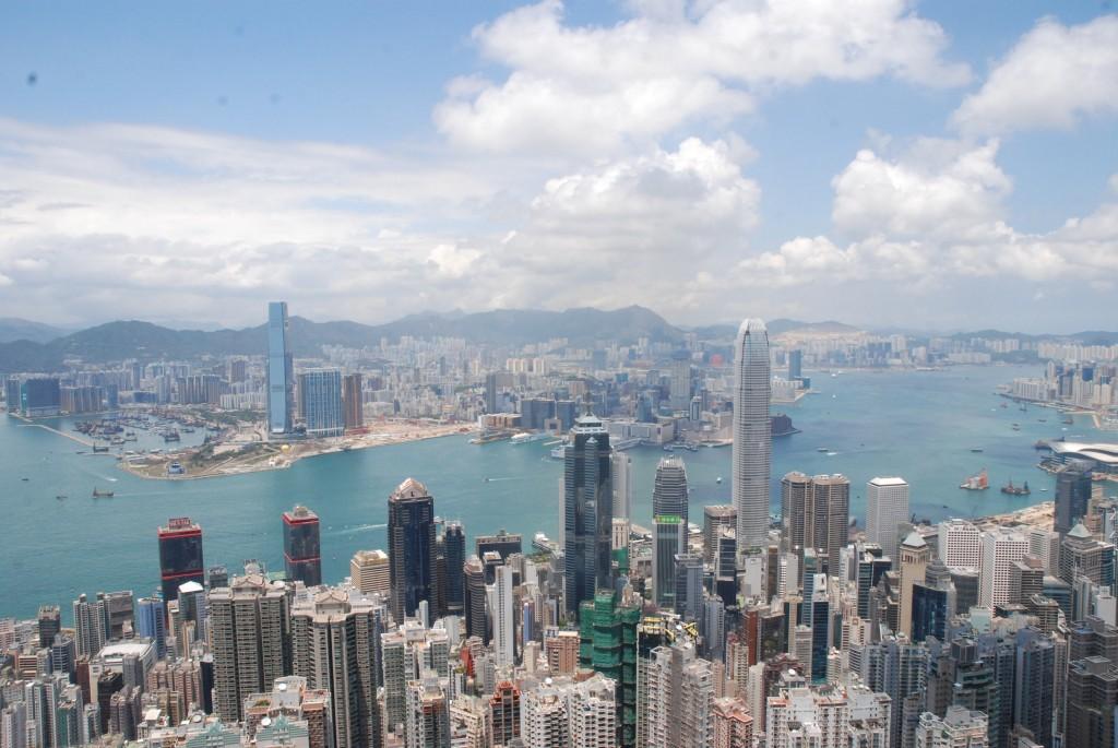 Visserligen Hong Kong och inte Beijing...Men, landet är ju rätt