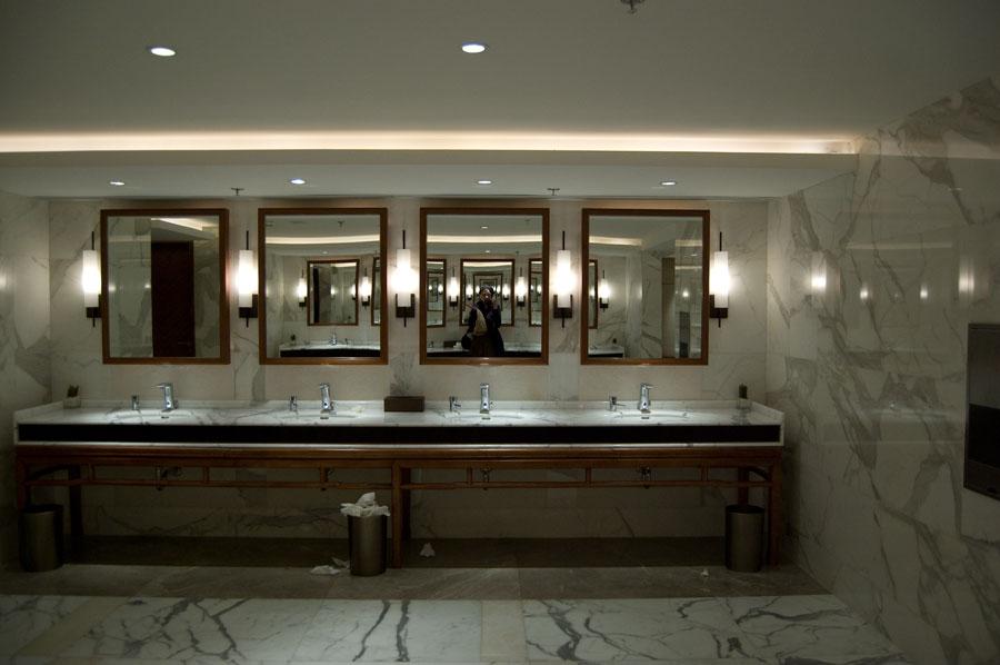 Kerry Hotel ger damerna ett väldigt vackert damernas