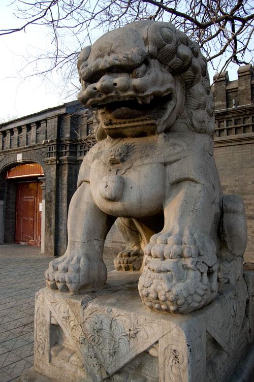 Gigantiskt lejon